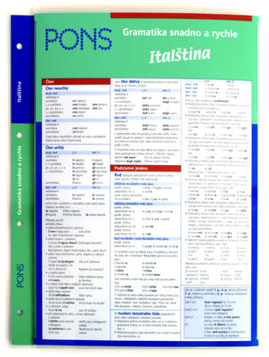 Obrázok Gramatika snadno a rychle Italština