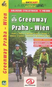 Obrázok Greenway Praha-Wien 1:110 000