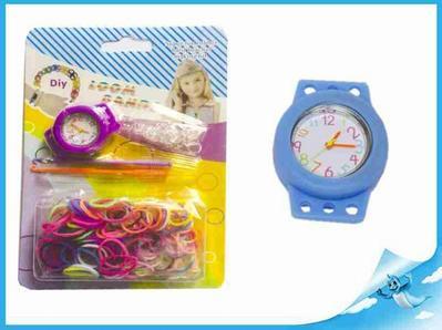 Obrázok Gumičky 200ks s hodinkami a doplňky na kartě
