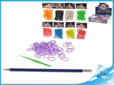 Obrázok Gumičky z boxu ICK 0173913 300ks + háčky 9barev