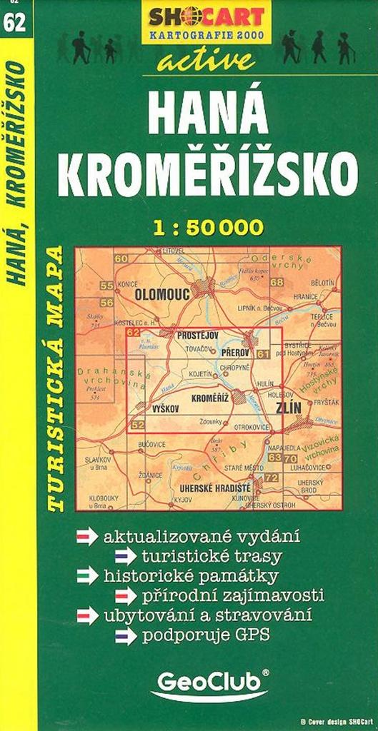 Haná, Kroměřížsko 1:50 000