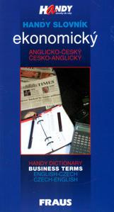 Obrázok Handy slovník ekonomický anglicko-český česko-anglicky