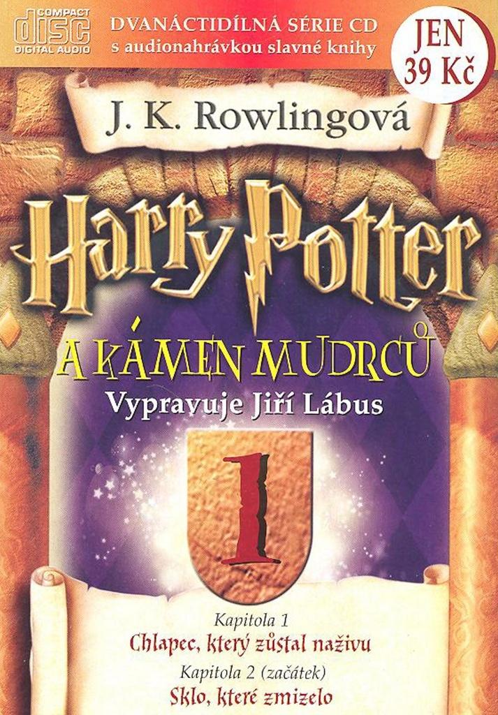Harry Potter a Kámen mudrců 1 - Joanne K. Rowlingová