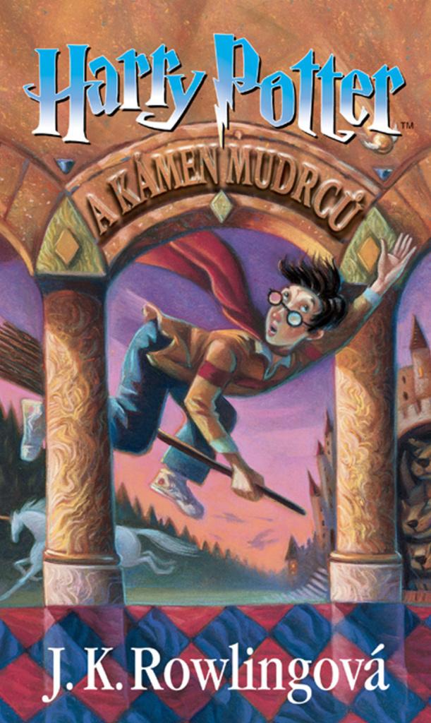 Harry Potter a Kámen mudrců (1. díl) - Joanne K. Rowlingová