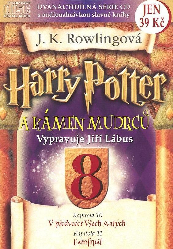 Harry Potter a Kámen mudrců 8 - Joanne K. Rowlingová