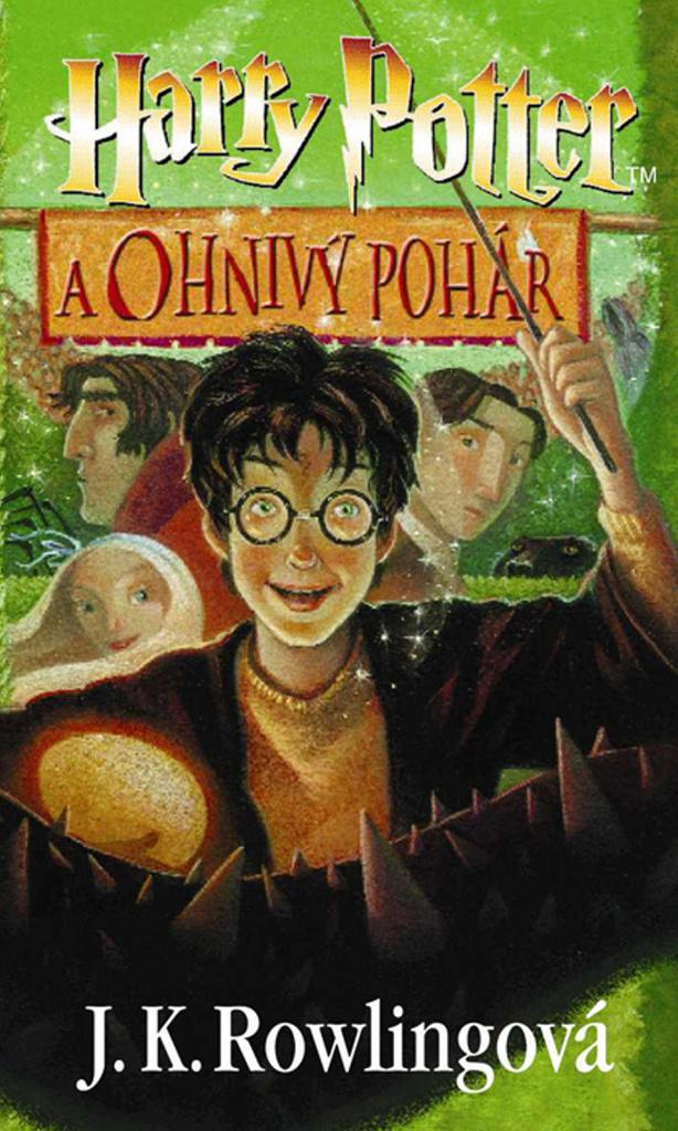 Harry Potter a Ohnivý pohár (4. díl) - Joanne K. Rowlingová