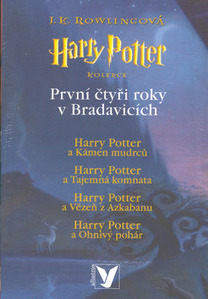 Obrázok Harry Potter komplet 1.-4.díl