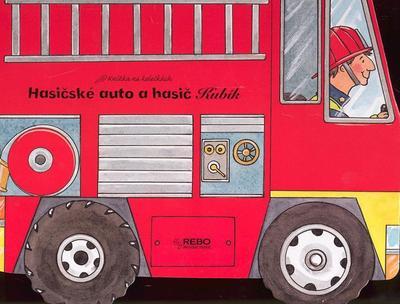 Obrázok Hasičské auto a hasič Kubík