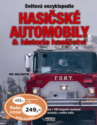 Obrázok Hasičské automobily a historie hasičství