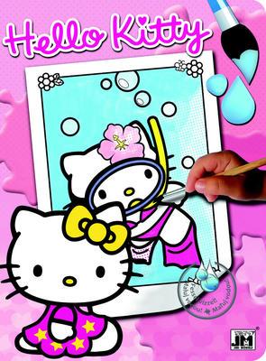 Obrázok Hello Kitty 1 - omalovánka