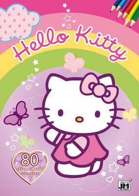 Obrázok Hello Kitty omalovánka