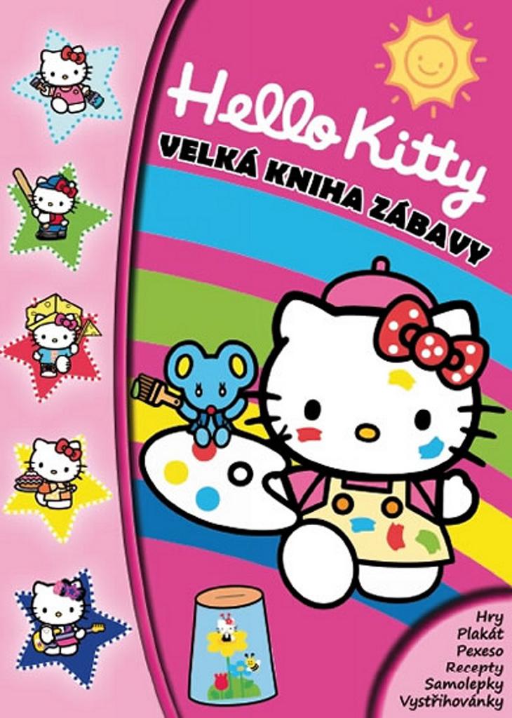 Hello Kitty Velká kniha zábavy - Walt Disney