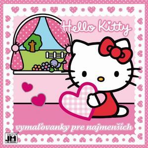 Obrázok Hello Kitty Vymaľovánky pre najmenších