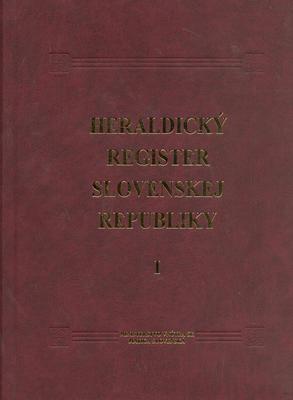 Obrázok Heraldický register Slovenskej republiky I