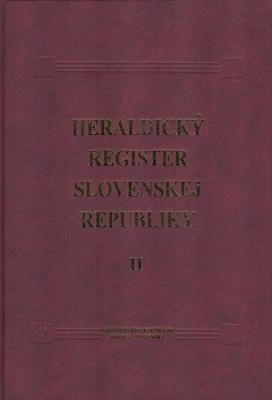 Obrázok Heraldický register Slovenskej republiky II