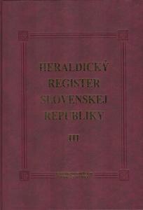 Obrázok Heraldický register Slovenskej republiky III