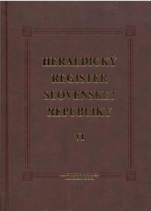 Obrázok Heraldický register Slovenskej republiky VI