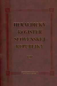 Obrázok Heraldický register Slovenskej republiky VII