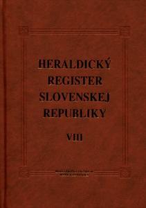 Obrázok Heraldický register Slovenskej republiky VIII