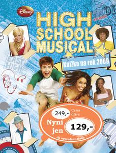 Obrázok High School Musical Knížka na rok 2009