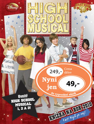 High School Musical Knížka na rok 2010