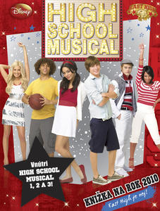 Obrázok High School Musical Knižka na rok 2010