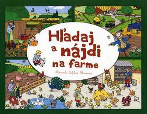 Obrázok Hľadaj a nájdi na farme