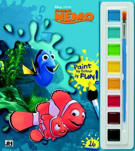 Obrázok Hledá se Nemo omalovánka s vodovkami