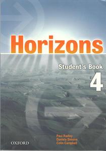 Obrázok Horizons 4 Student´s Book