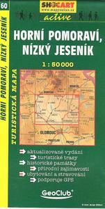 Obrázok Horní Pomoraví, Nízký Jeseník 1:50 000