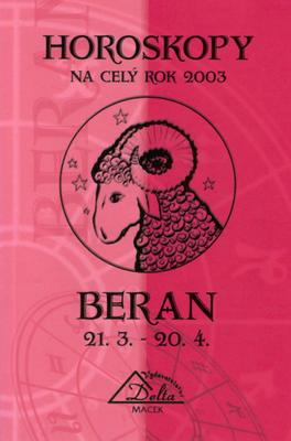 Obrázok Horoskopy 2003 BERAN