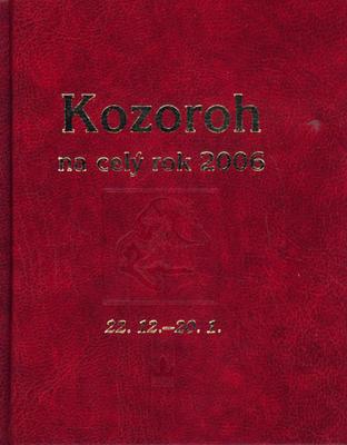 Obrázok Horoskopy na celý rok 2006 Kozoroh