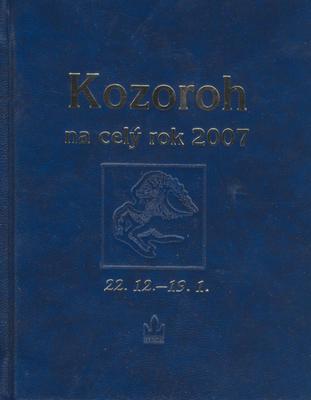 Horoskopy na rok 2007 Kozoroh