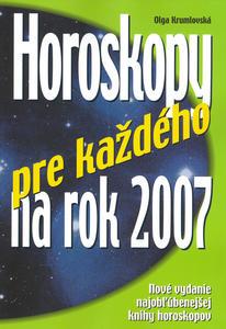 Obrázok Horoskopy pre každého na rok 2007
