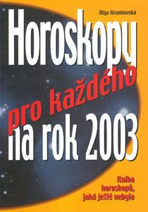 Obrázok Horoskopy pro každého na 2003