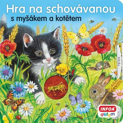 Obrázok Hra na schovávanou s myšákem a kotětem