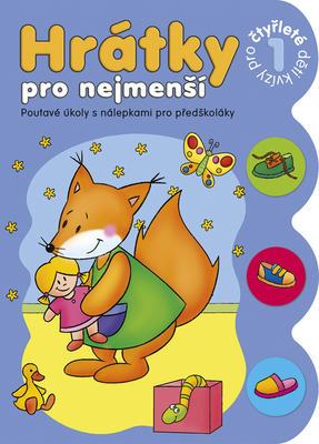 Obrázok Hrátky pro nejmenší Kvízy pro čtyřleté děti 1
