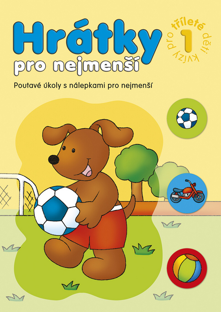Hrátky pro nejmenší Kvízy pro tříleté děti 1