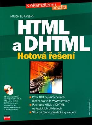 Obrázok HTML a DHTML Hotová řešení + CD