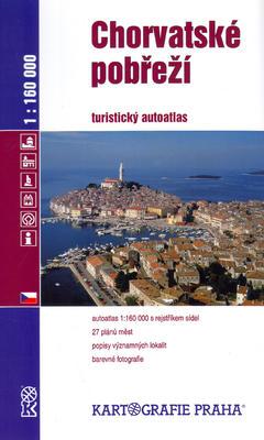 Obrázok Chorvatské pobřeží 1:160 000