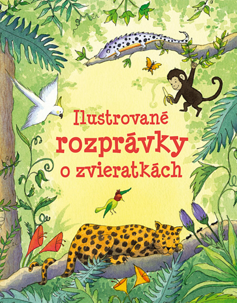 Ilustrované rozprávky o zvieratkách