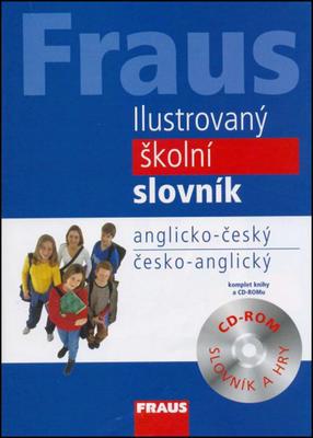 Obrázok Ilustrovaný školní slovník anglicko-český/česko-anglický + CD ROM