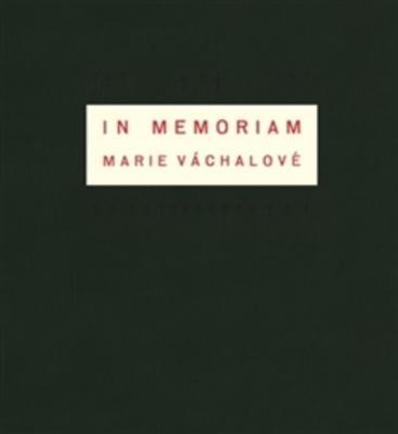 Obrázok In memoriam Marie Váchalové