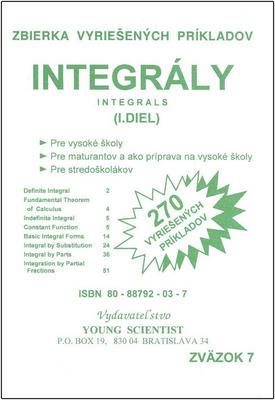 Obrázok Integrály I.diel