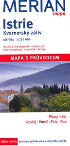 Obrázok Istrie, Kvarnerský záliv 1:250 000