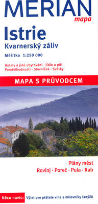 Istrie, Kvarnerský záliv 1:250 000