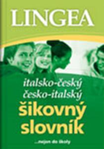 Obrázok Italsko - český česko - italský šikovný slovník