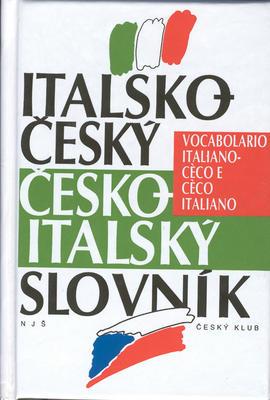 Obrázok Italsko-český česko-italský slovník