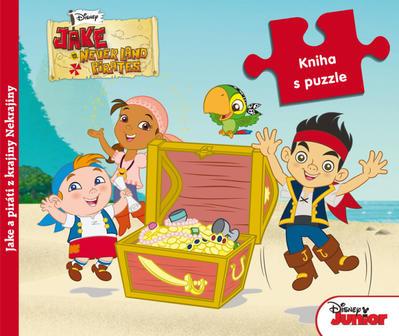 Obrázok Jake a piráti z krajiny Nekrajiny Kniha s puzzle