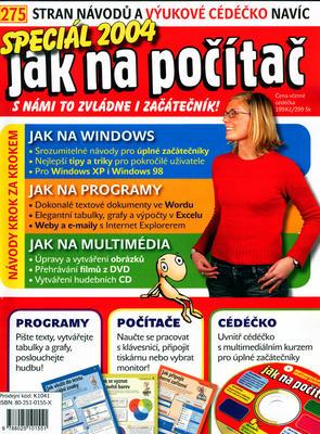 Obrázok Jak na počítač Speciál 2004 + CD